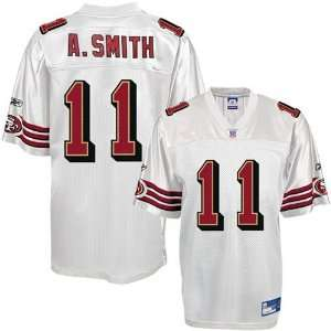Reebok NFL Equipment San Francisco 49ers #11 Alex Smith Youth White