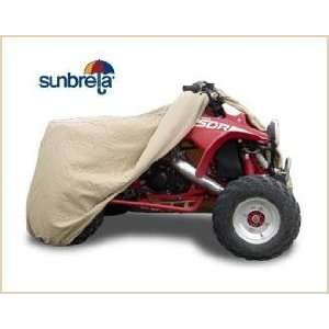 Tan Sunbrella ATV Cover by Beverly Bay