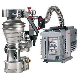 Direct drive rotary vane vacuum pump, dual mode, 3.5 cfm, 115 VAC