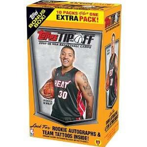 Topps 2008 2009 Tipoff Trading Cards Blaster Box Sports