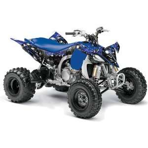 Racing 2009, 2010 Yamaha YFZ 450 ATV Quad, Graphic Kit   Reaper Blue