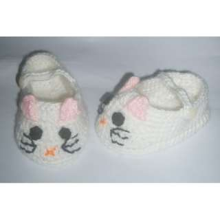 Cartoon shoes Cat Handmade Wool knit For Children H1563