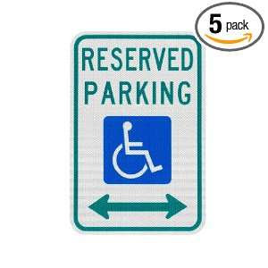 Elderlee, Inc. 9312.78005 Handicapped Parking Sign, Reserved Parking