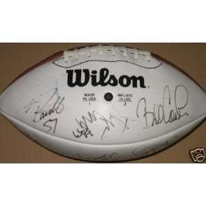 1996 Pittsburgh Steelers Team Signed Football w/ Strzelczyk, Bettis