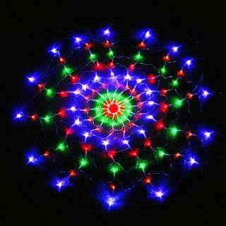Colorful RGB Net 120 LED Light For Christmas Party