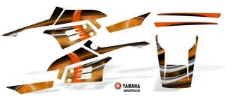 Yamaha Warrior 350 Atv Graphic Decal Sticker Kit #3200