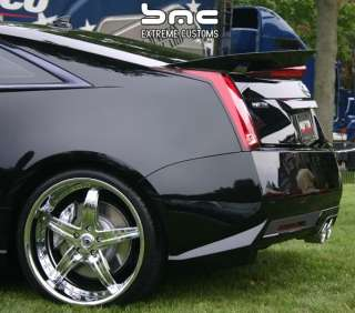 2011 2012 Cadillac CTS V Coupe Rear Spoiler Custom Trunk Wing