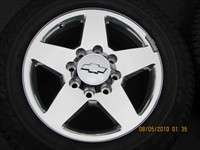 Four 2011 Chevy HD 2500 3500 Factory 20 Forged Wheels Tires OEM Rims