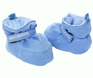 Wallaboo SOFT SOLED BABY SHOES 0 6 MONTHS SOFT BLUE BN