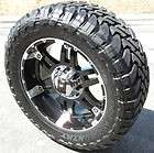 20X9 BLACK KMC XD SPY WHEELS TOYO OPEN COUNTRY MT DODGE RAM 1500 5X5