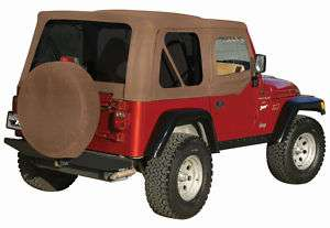 SPICE 97 06 JEEP WRANGLER SOFT TOP tint windows UPPERS
