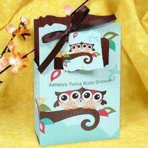 Owl   Look Whooos Having Twins   Classic Personalized Baby Shower