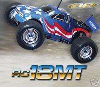 New Team Associated RC18MT 4 wheel drive Monster Truck