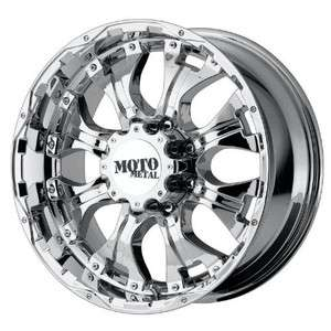 18 inch Moto Metal 959 chrome wheels rims 6x5.5 6x139.7