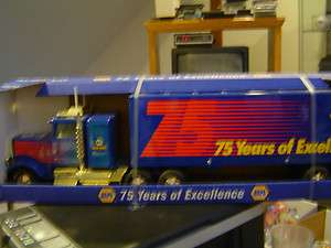 Napa 75 Year Anniversary Truck and Trailer Diecast Model
