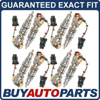 FORD 6.0L POWERSTROKE DIESEL COMPLETE FUEL INJECTOR SET