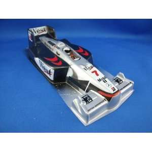 Painted F1 Mclaren Mp4 Body   Black/Silver (Slot Cars) Toys & Games