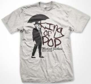Michael Jackson Memorial Umbrella T Shirt (Mens and Womens