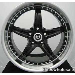 18x8.5 Black Stern ST11 5x112 rim wheel audi a4 sale Automotive