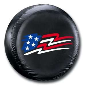 American Flag Spare Tire Cover Automotive