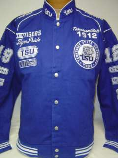Tennessee State Univ. TSU Tigers Racing Style Jacket