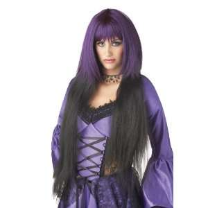 Razors Edge Costume Wig   Purple/Black   36 inches Toys