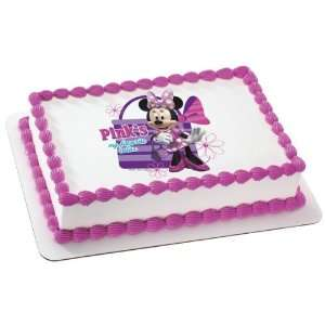 Minnie Mouse Edible Cake Topper Decoration Everything