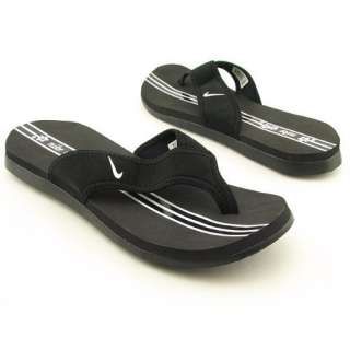 Nike Womens Celso Thong Plus (Black)   5 Shoes