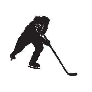 Hockey Sports Car Truck Vehicle Bumper Helmet Decal Sticker Wall Art
