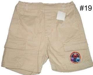 NWT BOYS PLAY SHORTS CLOTHES BABY INFANT TODDLER GIRLS