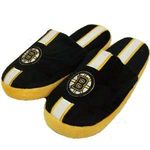 BOSTON BRUINS OFFICIAL LOGO PLUSH SLIPPERS SIZE S  Sports