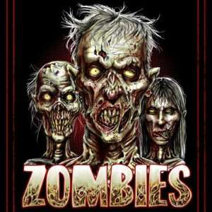 Zombies Fridge Magnet