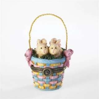 Boyds Bear EASTER BASKET Treasure Box 4021168
