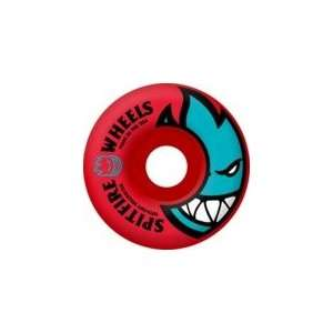 Spitfire Bighead Rocket Red Skateboard Wheels   54mm 99a