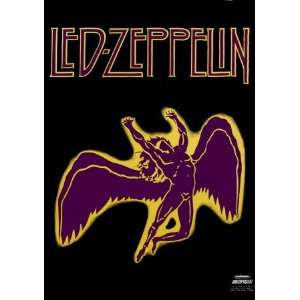 Zeppelin   Swan Song Music Fabric Poster Print, 30x40