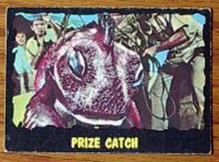 1964 Outer Limits TV TOPPS Trading Card #21 VG
