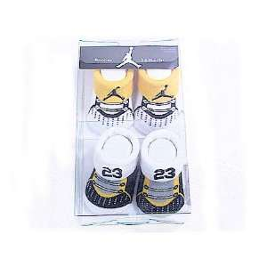 Nike Jordan Booties Girl Boy Baby Infant with JordanJumpman Sign Sock