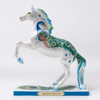 Enesco Trail of Painted Ponies Appaloosa Peacock Figurine NIB 4022548