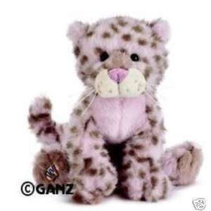 Webkinz Virtual Pet Plush   STRAWBERRY CLOUD LEOPARD Toys & Games
