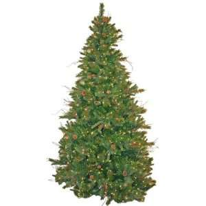 Good Tidings Artificial Frasier Prelit Christmas Tree in a