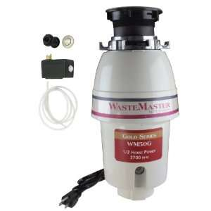 WasteMaster 1/2 HP Disposal with Stainless Steel Air