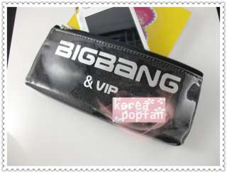 BIGBANG big bang V.I.P KPOP BLACK PEN PENCIL CASE TYPE A NEW