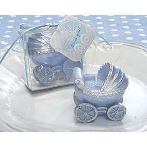 Pink or Blue Baby Stroller or Carriage Candle Favors Baby