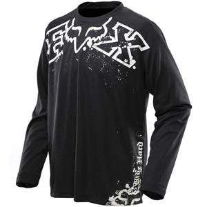 Fox Racing Ride Jersey   2010   2X Large/Black/White
