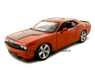 model car of 2008 dodge challenger srt8 die cast car by maisto has