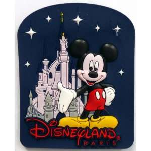 Mickey Mouse ~ Disneyland Paris ~ Fridge Magnet ~ Refrigerator Magnet