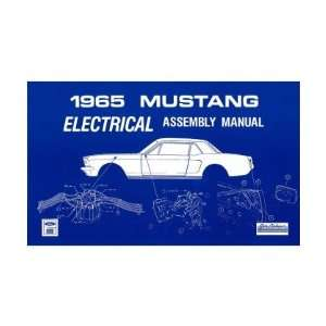 1965 FORD MUSTANG Electrical Assembly Manual Book Automotive