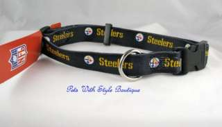 Pittsburgh Steelers NFL Dog collar Official Licensed