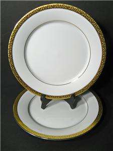 Royal Gallery Gold Buffet Set of Two Dinner Plates