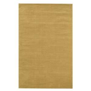 Clean Sweep Area Rug in Gold (132 x 96)   Low Price Guarantee.